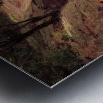 The Swimming Hole Metal print