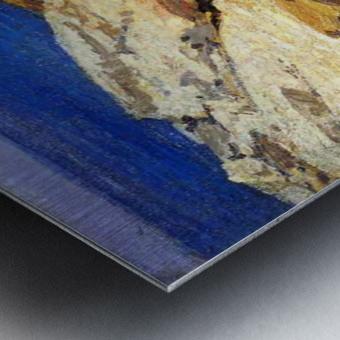 The Maine Coast Metal print
