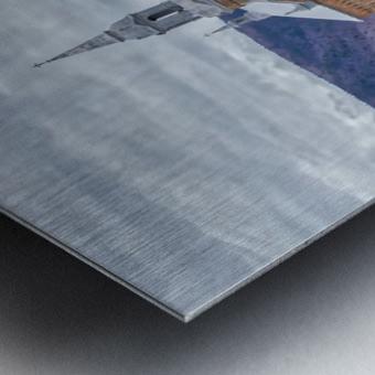 St. Pierres Church - Cheticamp Ns Metal print