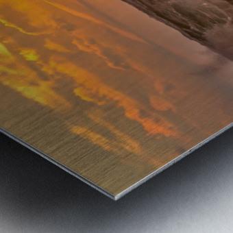 Fire & Water II Metal print