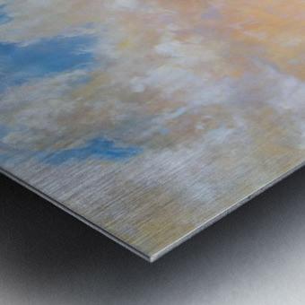 On the Plains Cache la Poudre River Metal print