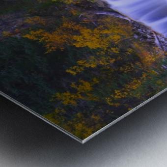 Johnston Canyon In Banff National Park, Alberta, Canada Metal print