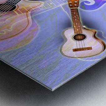 Stringed Instruments Metal print
