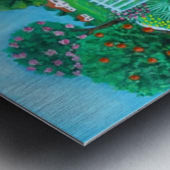 gardening Metal print