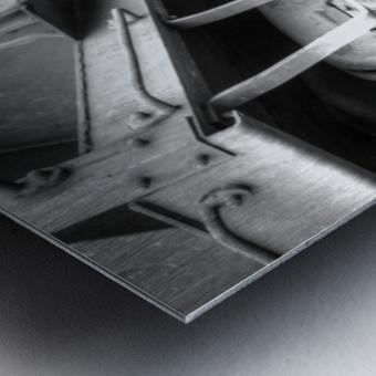 Rail Cars Metal print