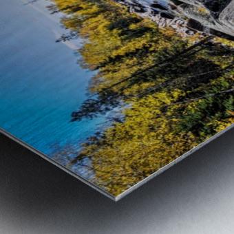River Bed Metal print