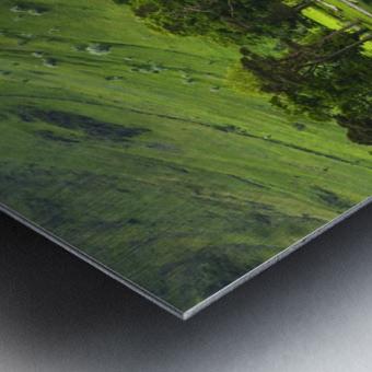 Green Peace, Buttermere, UK Metal print