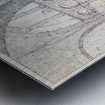 Octogone d'Ottmarsheim Metal print