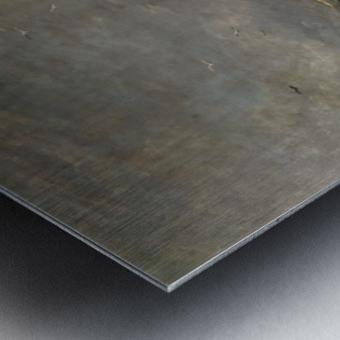 Scheveningen toen en Metal print