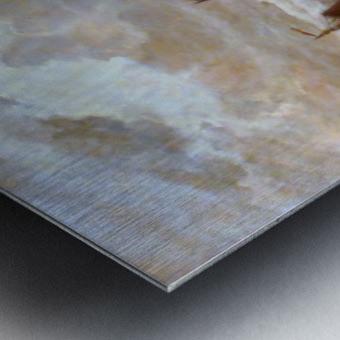 Zonsondergang Metal print