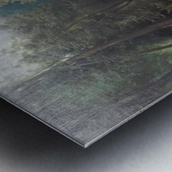 Badende Madchen im Park von Terni Metal print