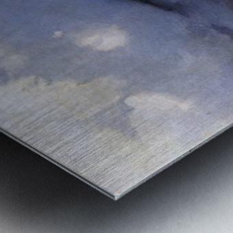 Galgenberg bei Gewitterstimmung Metal print