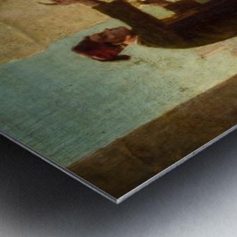 Study for Felice Ballarin Reciting Metal print