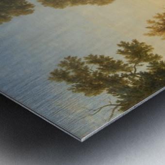 Fete villageoise Metal print