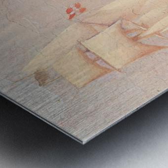 Danish paddle steamer Metal print