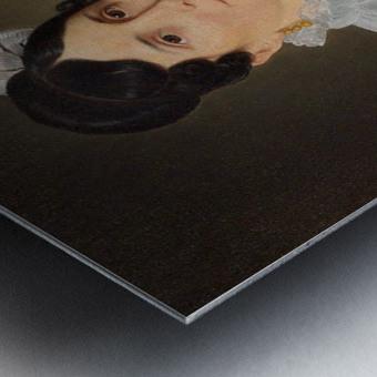 Portrait of Sarah Wolff Metal print