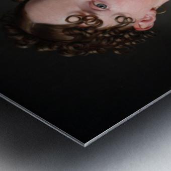 Portrait of Ida Mariane Brockenhuus Metal print