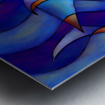 Cassanella - dream fish Metal print