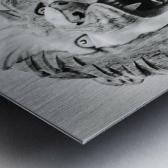 King of the Beast Metal print