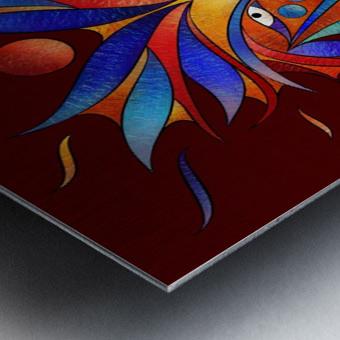 Sanopsilla - the dog Metal print
