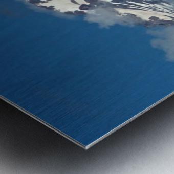 Clouded Peak-Mt Hood Metal print