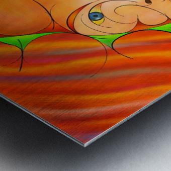 Alessinium - beauty curves Metal print