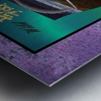 A2TwoDiamondsCard Metal print
