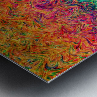 Fluid Colors G249 Metal print