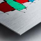 Sanomessia - melting cubes Metal print