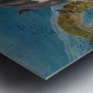 The Legends Kingdom Metal print