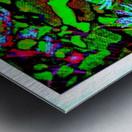 Green Flat-pic art Metal print