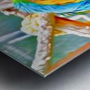 BirdsTalking Metal print