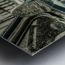 London Rain Metal print