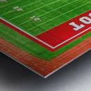 Cabot, AR   Panther Football Field Metal print