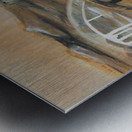 La Fin de la Traversée  Metal print