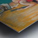 Hamam Metal print