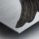wings Metal print