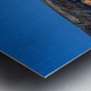 Santorini Landscape - Greece Metal print