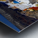 Colours of Santorini Metal print