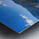 Amalfi Coast Landscape - Italy Metal print