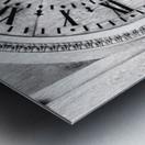 The Old Church Clock Metal print