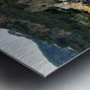 Italian Village Landscape - Amalfi Metal print