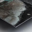 Oilspill Metal print