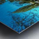 River and Boats - London  Metal print