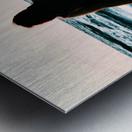 blue sea Metal print
