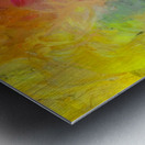 Bright Colorful Abstract Painting Metal print