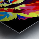 Lion Rainbow Metal print