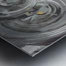 Helical Metal print