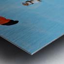 SkyDivingSquirrel Metal print