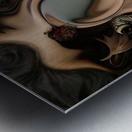 Autumnal Material Metal print